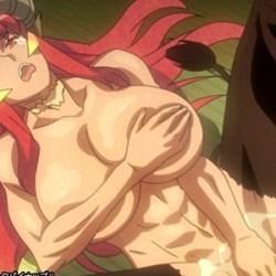 【漆黒のシャガ 第二話 件(くだん)】今度は蛇娘と牛鬼の妖怪が登場!褐色筋肉の巨女が好みです♪