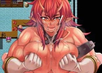 【人外・モン娘】姉御肌の褐色巨乳妖鬼のお姉さんにパイズリ・騎乗位で精液搾られる!!