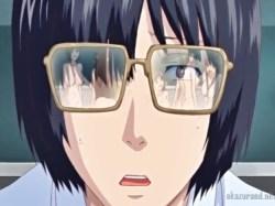 教室でなんでも透け透けのメガネを装着!クラスメイトたちの無防備全裸を前に勃起不可避!!