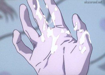 【エヴァ】シンジ君が入院しているアスカのおっぱいでオナニーしちゃうシーン(睡眠姦)