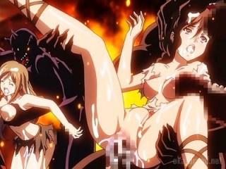 【異種姦・輪姦】魔物巨根で犯されるエルフの姫たち!戦利品として扱われる敗戦国の女たちの末路は.....?