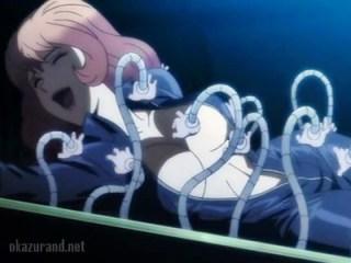 【ルパン三世】不二子ちゃんが変態オヤジに捕まり触手凌辱される!