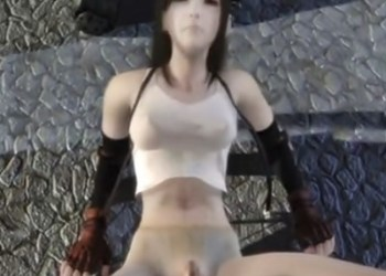 【FF7】捕らわれのティファは敵兵の性奴隷と化す!複数の男に上の穴も下の穴も犯される彼女の末路は......?