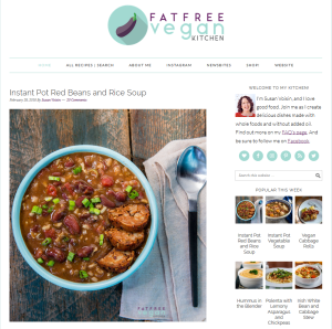 The best vegan cooking blogs in 2018 fat free vegan kitchen forumfinder Gallery