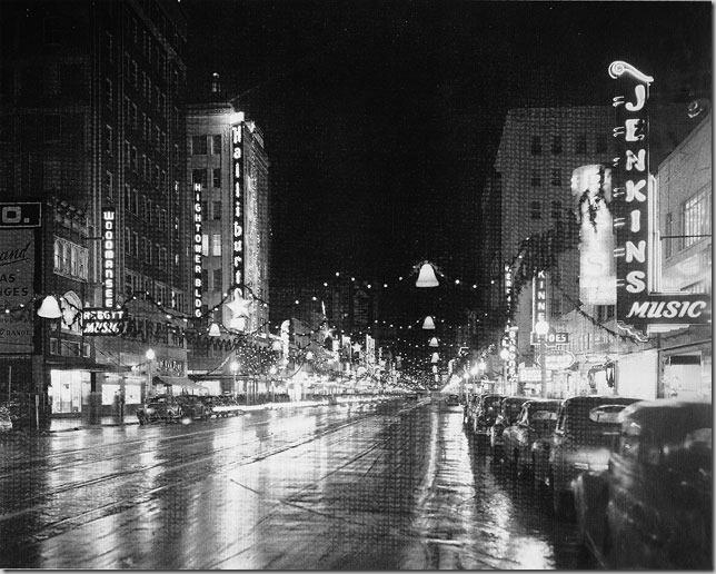 Oklahoma City Christmas 1949