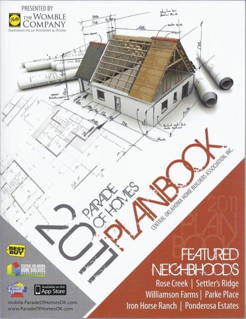 2011 Oklahoma City Parade of Homes Plan Book