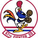 67th Fighter Squadron Patch