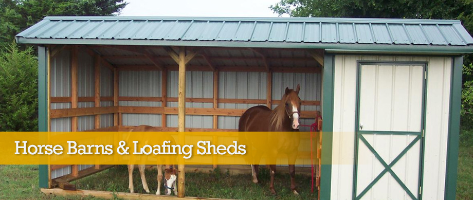 Oklahoma City Affordable Horse Barns Amp Loafing Sheds