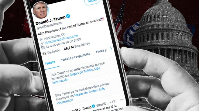 Facebook suspende indefinidamente las cuentas de Trump