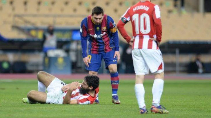 A Messi podrían caerle hasta 12 partidos... si el Comité considera que  agredió a Villalibre