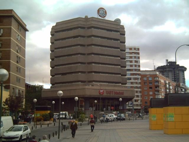 Sede de UGT Madrid.