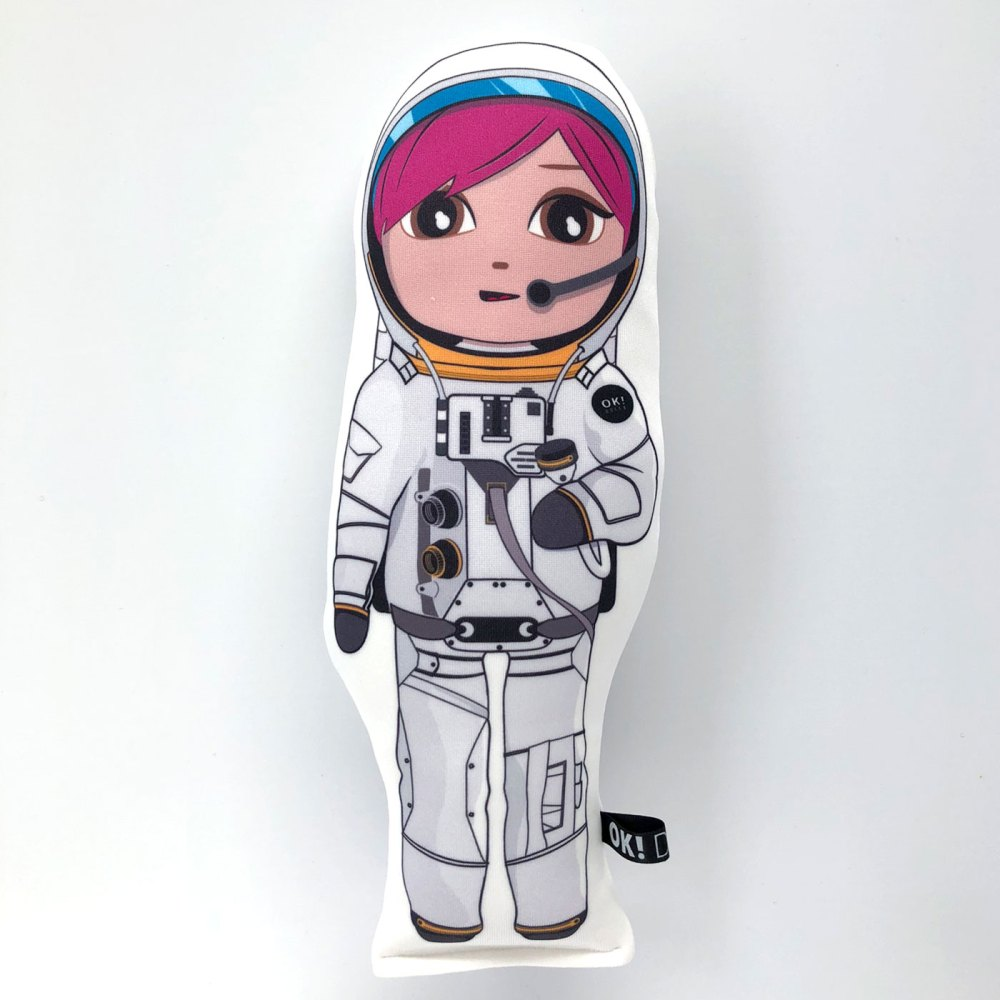 Amber Astronaut doll honey skin tone bu OK!Dolls