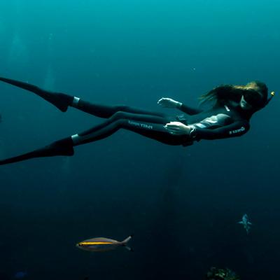 Meet Amber, Freediver