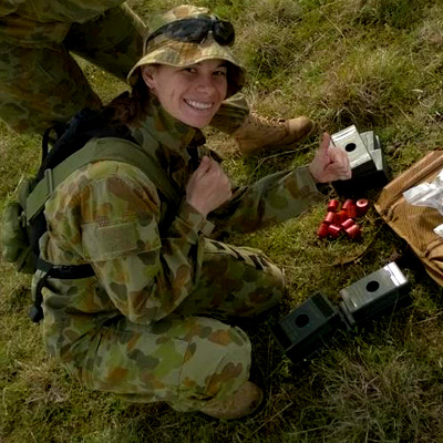 Meet Haley O'Brien - Aerospace Armament Engineer in the Royal Australian Air Force.