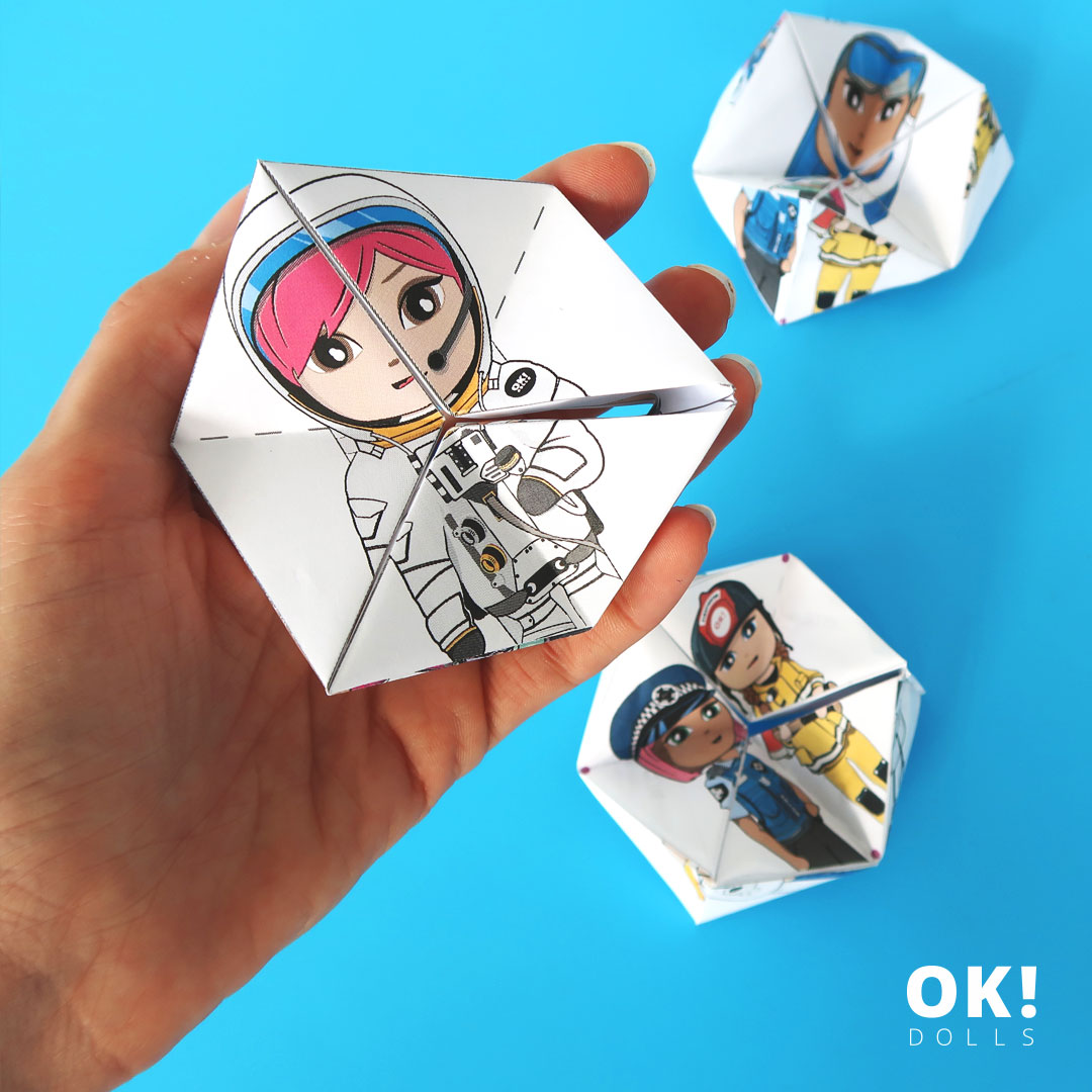 Amber Astronaut OK!Dolls free flextangle