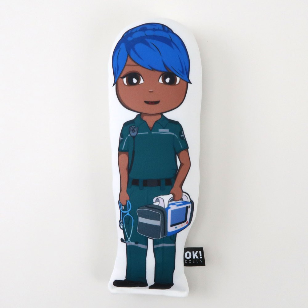 Priya Paramedic plush doll