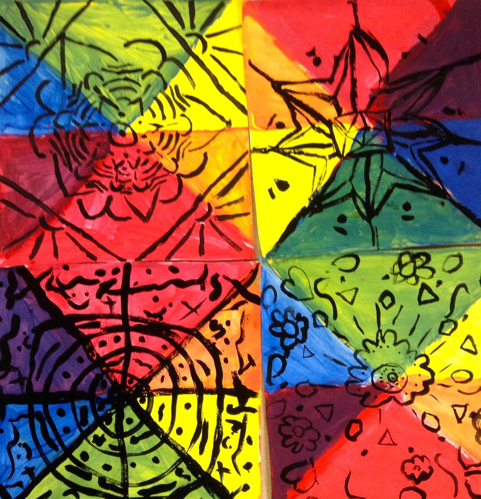 3rd Grade Mandala Color Wheels