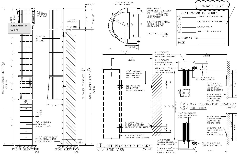 534 Cage Ladder