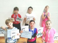 Okehampton Gym, Trampoline and DMT Club Oct 2014 medal winners