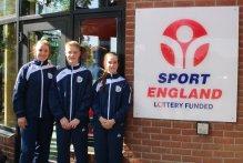 Image: Okehampton Flyers squad OLGA Sport England