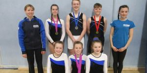 Flyers at South West Regionals Feb 2019