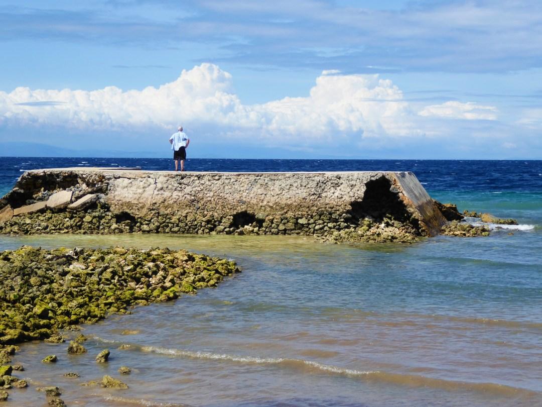 View from the beach, Momo beach.