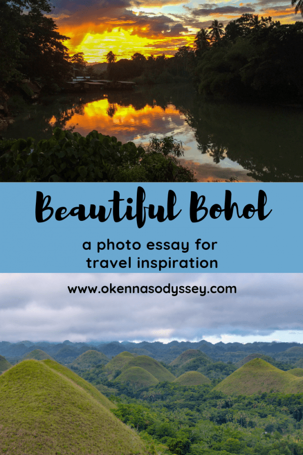 Want to explore Bohol? Here's a photo essay showing off some of the beautiful scenery including the Baclayon Church, Chocolate Hills and Mag Aso falls.