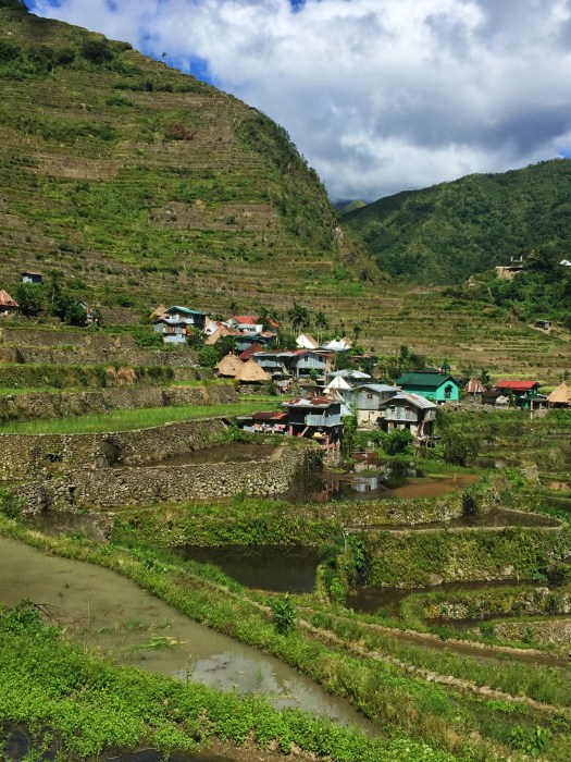 Village in Batad valley