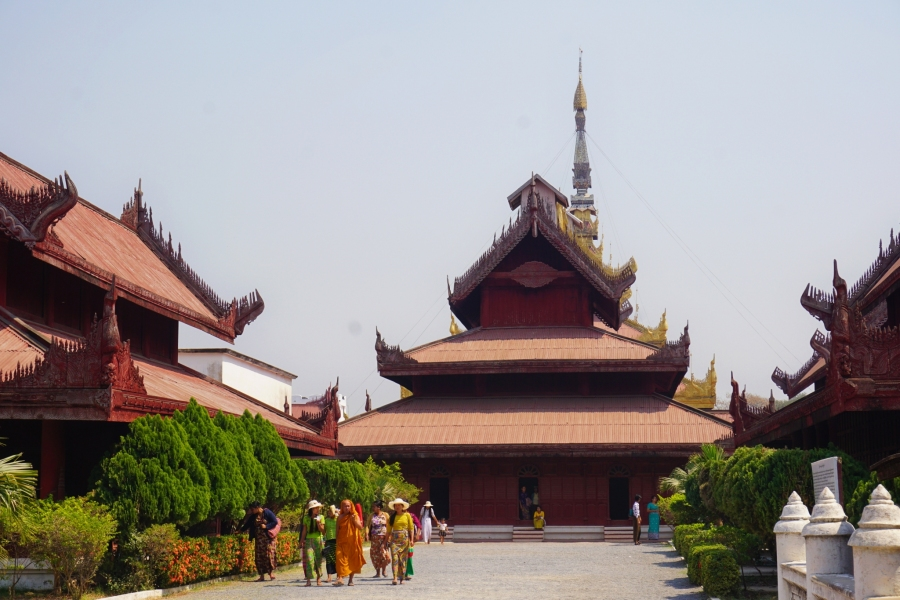 Grand Palace, Mandalay, Myanmar, history, Burmese monarchy