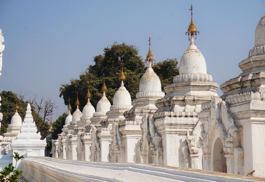 Kuthodaw Pagoda, Mandalay, Myanmar, ancient history, Theravada Buddhism
