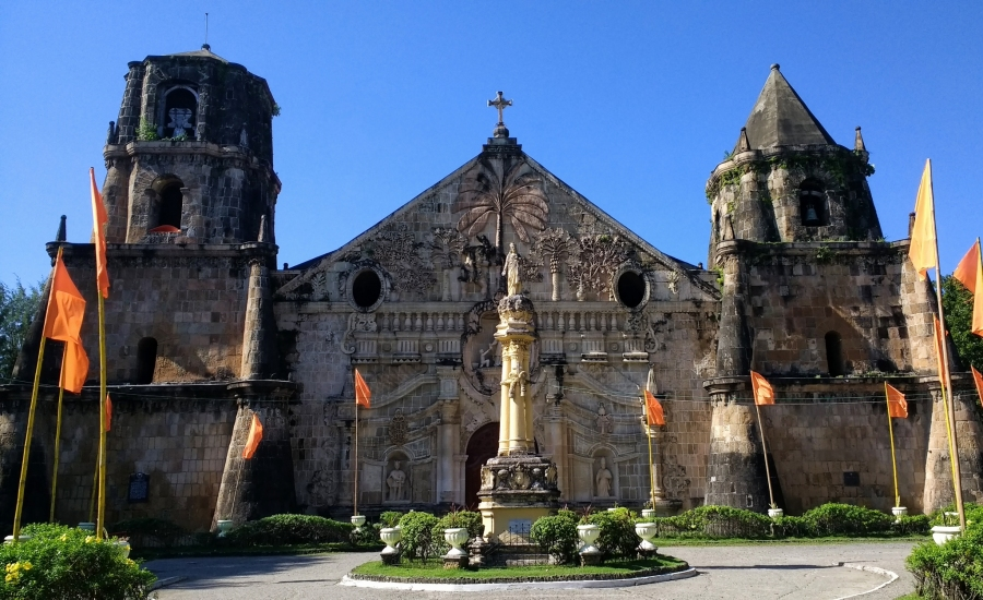 Miag-ao church, Philippines, religion, architecture, backpacking