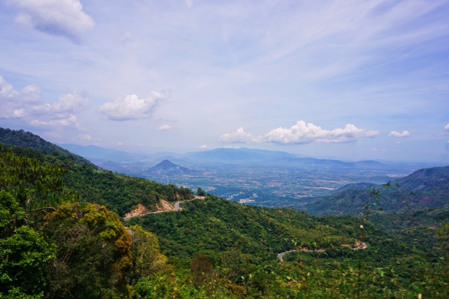 Ngoan Muc Pass, Vietnam, paradise, mountains, horizon, landscape