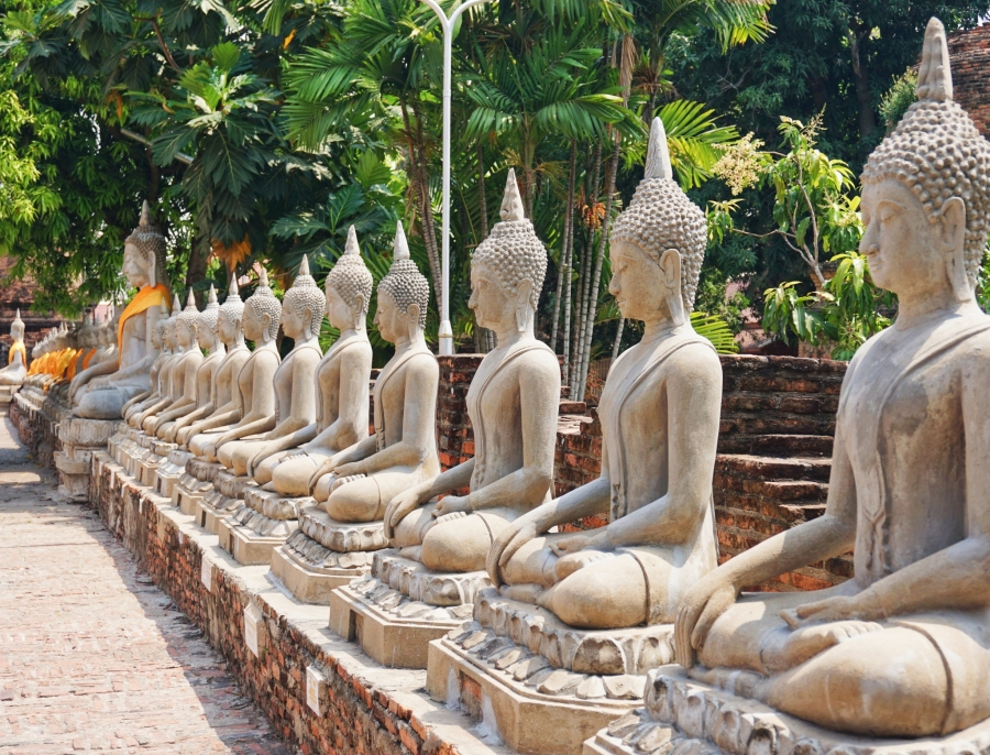 Buddhas, temples, ruins, history, culture, Southeast Asia