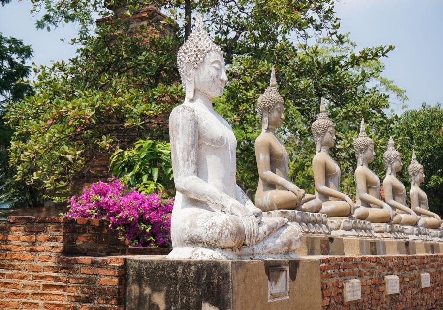 Thailand, Buddha, temple, ruins, history