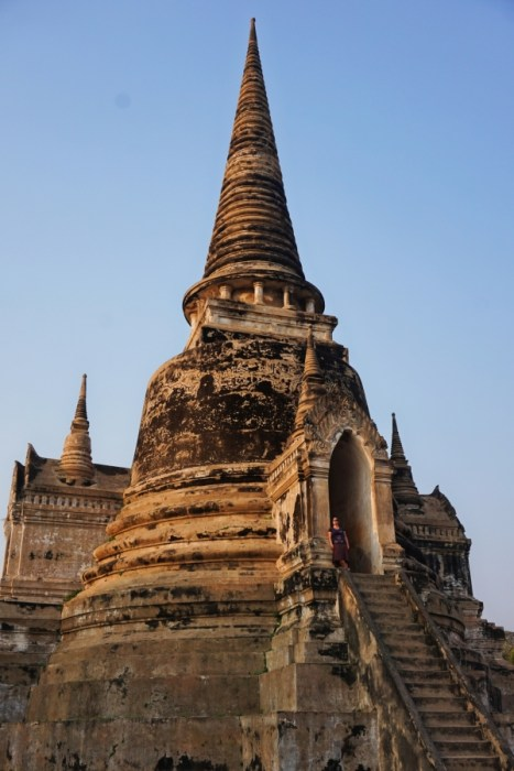Wat Si Sanphet is perfect for selfies, travel photography and exploring historical culture.