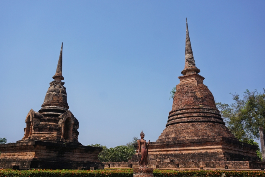 Sukhothai, Thailand, Buddhism, ruins, history, temples