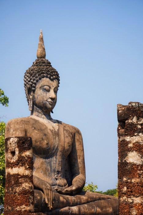 Sukhothai, Thailand, wat, Buddhism, ancient, ruins, temples