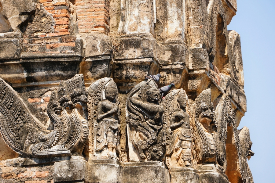 Wat Sa Sawai stonework, Sukhothai, Thailand, history, culture, ruins, Southeast Asia
