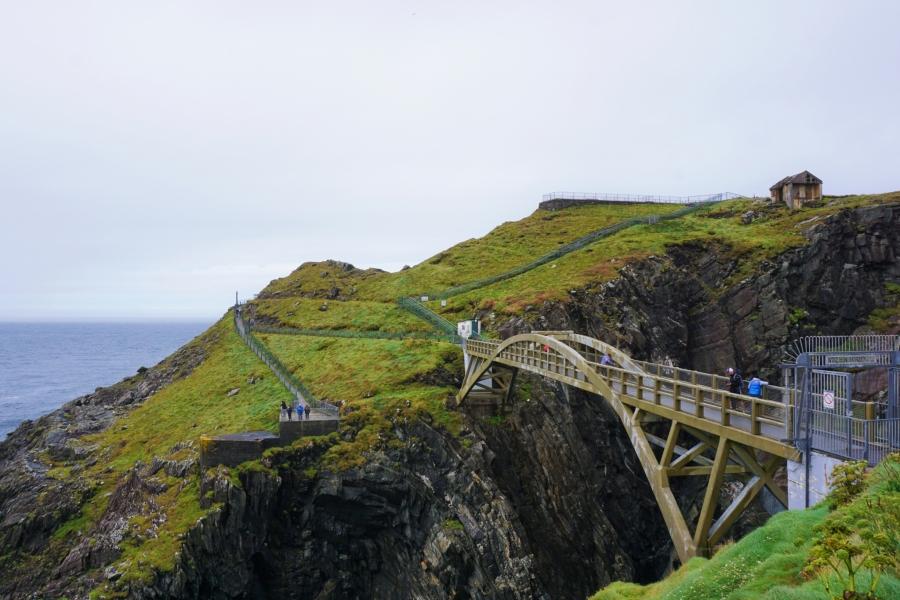 Mizen Head, southernmost point in Ireland.