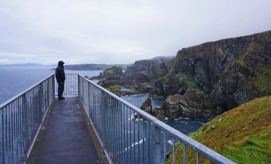 Mizen Head lookout on the Wild Atlantic Way.