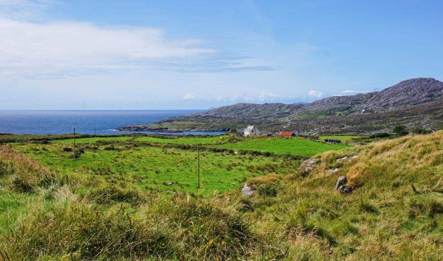Scenic views and seascapes galore on the Beara Peninsula, Ireland.