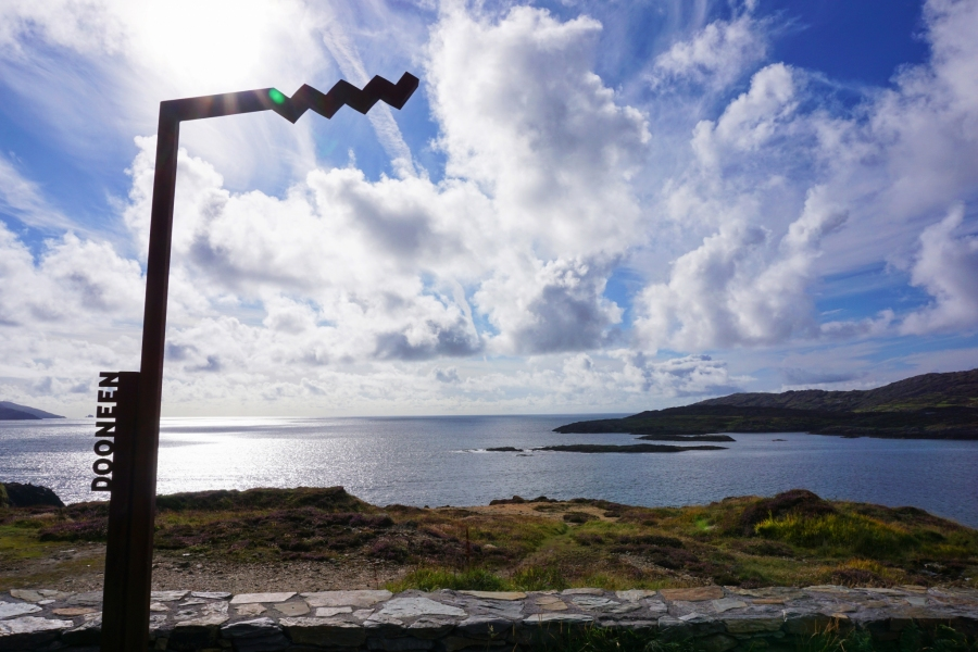 Dooneen, a copper mine right on the cliff's edge near the tip of the Beara Peninsula.