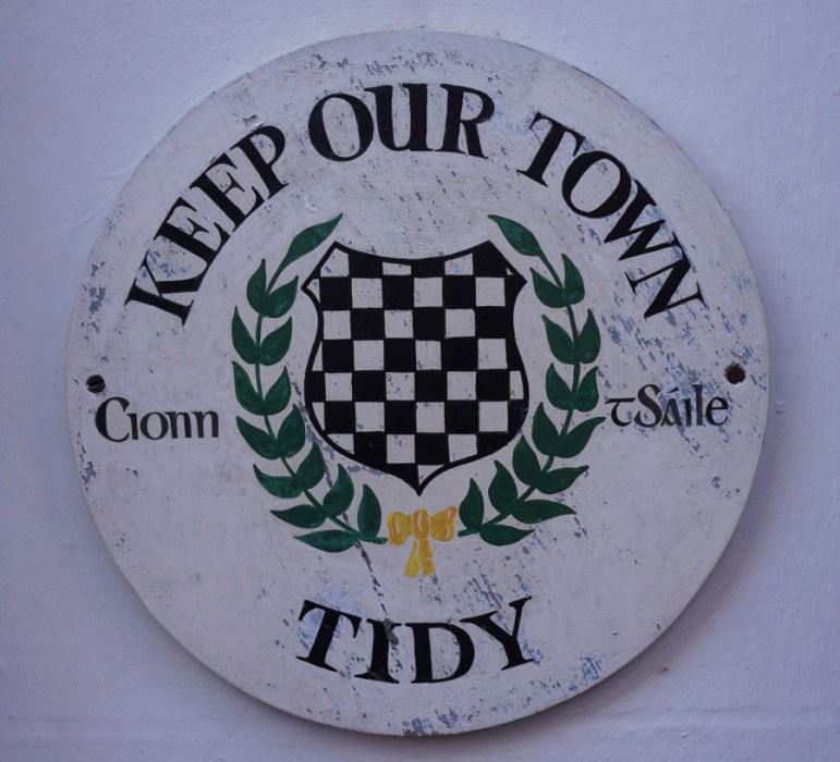 Tidy Towns is a contest in Ireland where small towns compete for a yearly prize.