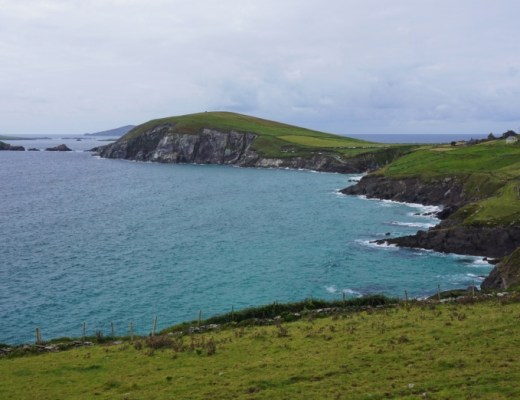 Dunmore Head at the tip of the Dingle Peninsula on the Wild Atlantic Way.