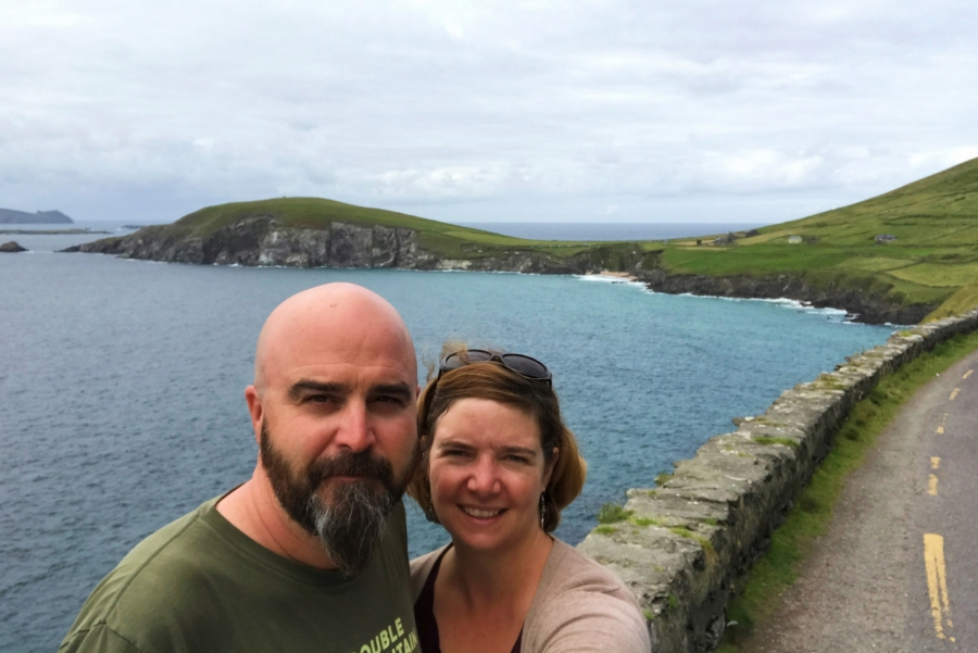 Dunmore Head on the Wild Atlantic Way
