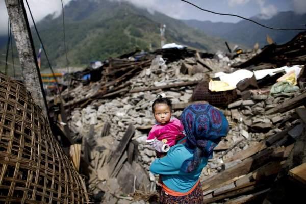 Nepal herrialdearen aldeko azoka txikia