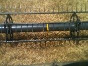 The beautiful sight of cutting wheat.