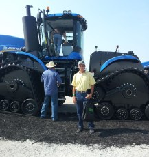 Greg attended the Farm Progress show in Iowa, seeing new farm equipment and technology.