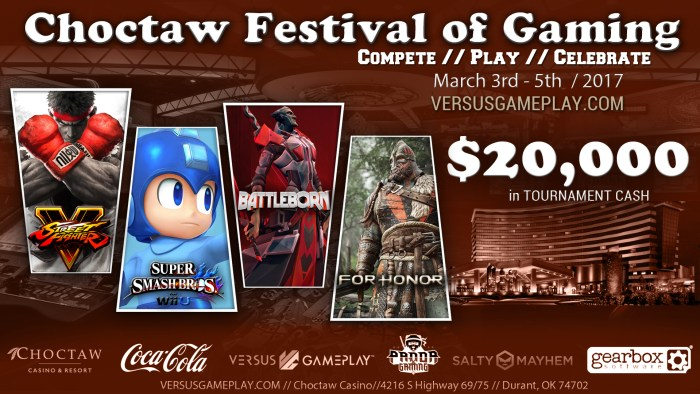 Choctaw Festival of Gaming