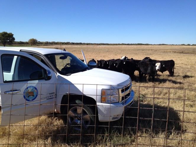 OGS truck in the field